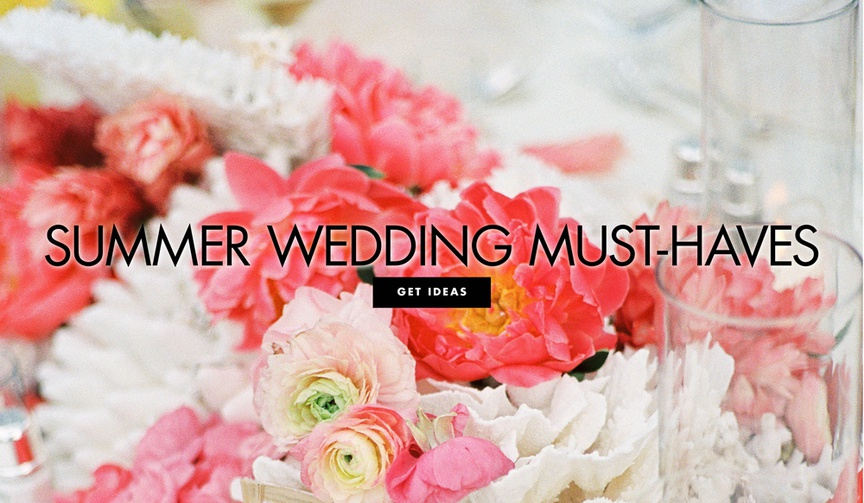 summer wedding must haves 10 steps to the perfect summer wedding