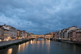 arno river in florence, italy, anniversary trip, tuscany countryside river