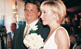 KTTV FOX 11 news anchor's wedding day
