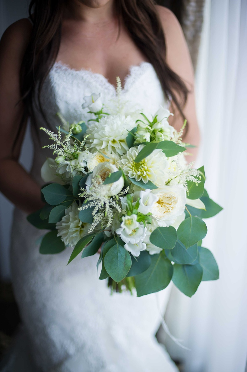 Bouquets Photos Bouquet Of White Flowers And Foliage Inside Weddings
