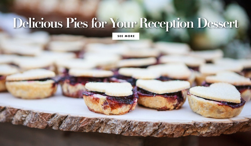 international pi day pie weddings reception food cuisine desserts alternatives to cake yummy