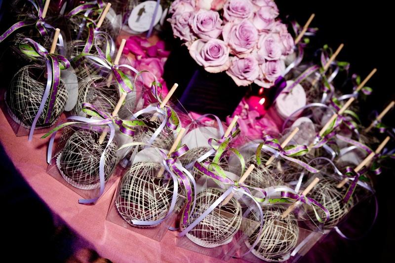 Caramel Candy Apples Wedding Favors Lhendeavors