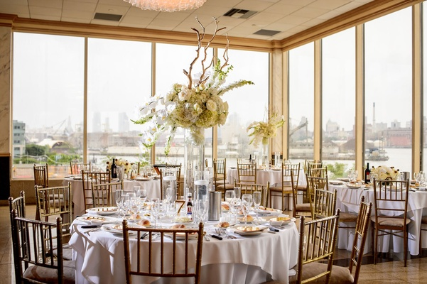 Classic Wedding Overlooking The East River In Brooklyn New York