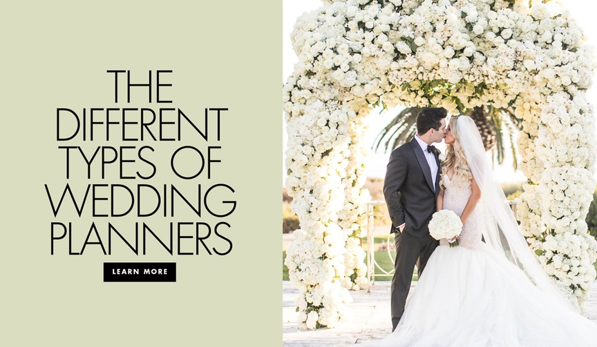 different kinds of wedding planners, what type of wedding planner should you hire?
