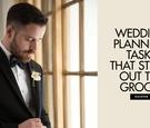 wedding planning stressed out groom, what wedding planning worries groom