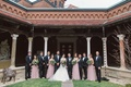 wedding party art institute of dayton ohio venye full attire pink dresses black tuxedos