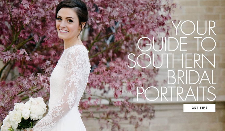 how to prepare for southern bridal portraits, southern tradition of bridal portraits