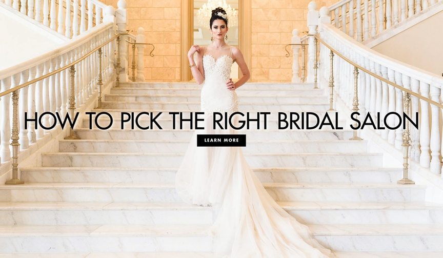 How to pick the right bridal salon wedding dress shopping advice