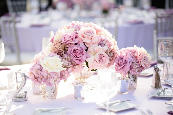 A Modern San Diego Hotel Wedding With Purple Sparkling Details