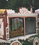 Wild tiger in circus cage wedding decor party ideas circus theme event