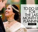 to do list for the last month of wedding planning what to do the month before