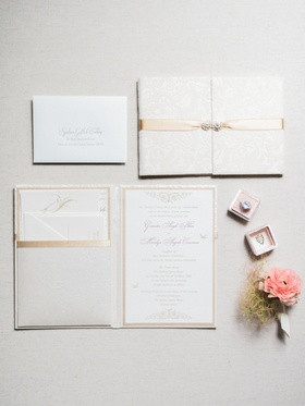 white and gold invitations, off-white and gold invitations, cream and gold invitations
