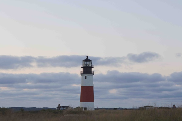 Cape Cod light house in Nantucket at rehearsal dinner