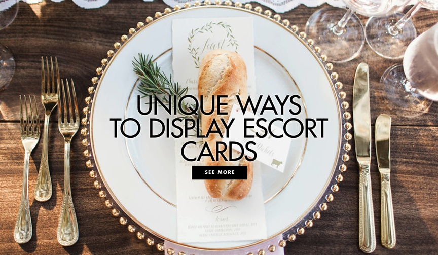 Gather expert tips and escort card ideas from Tessa Lyn Events!