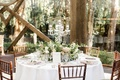 calamigos ranch oak room wedding, rustic space with large windows for wedding