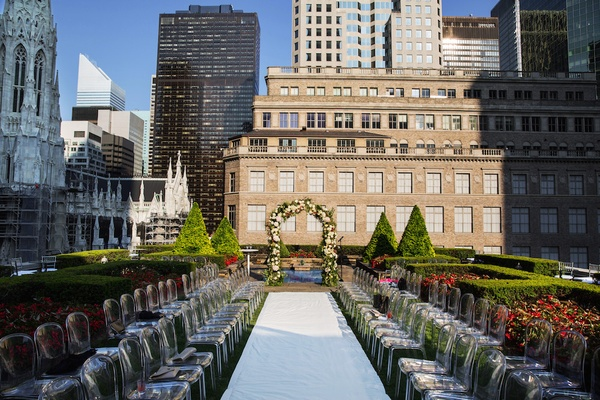 620 Loft and Garden outdoor wedding space