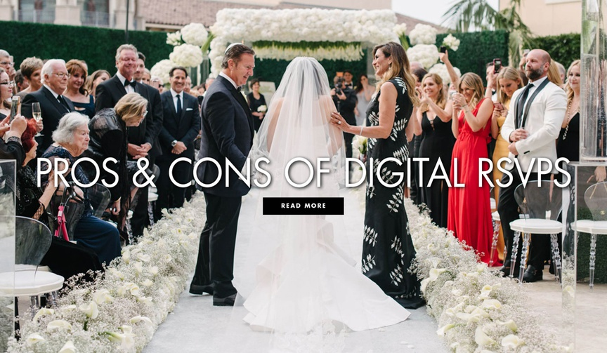 pros and cons of digital rsvps learn more about modern options for invitation responses