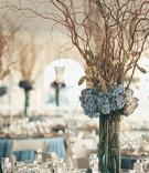 Elegant beach wedding reception decorations
