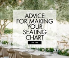 how to make the perfect seating chart for your wedding