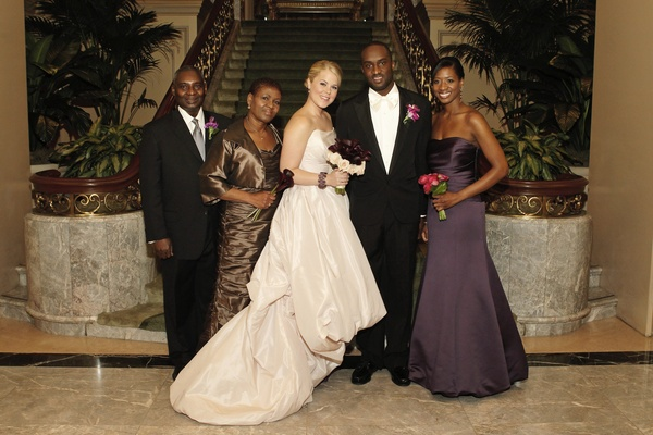 Purple-Hued Timeless Wedding in Chicago, Illinois - Inside