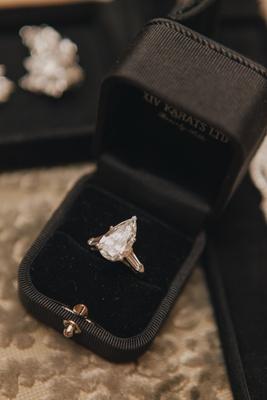Lauren Kitt's solitaire ring from Nick Carter