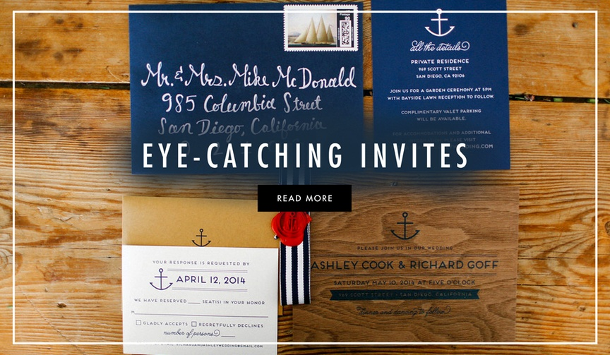 Unique wedding invitation ideas and tips on how to stand out