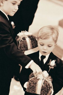 Little boy ring bearers