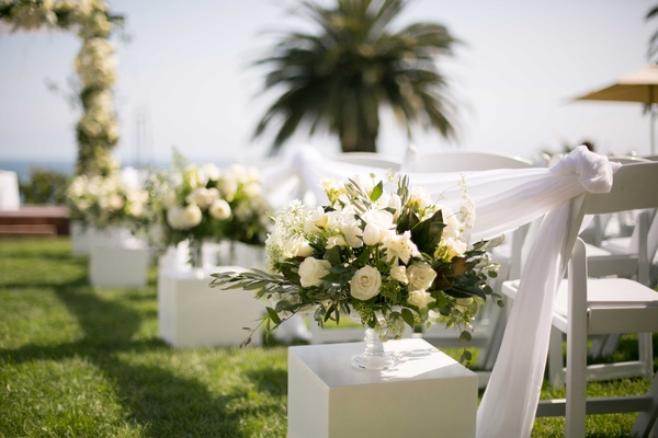 Classic California Wedding With Outdoor Ceremony & Indoor