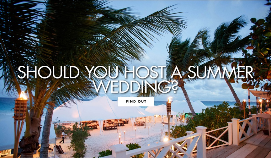 Should you host a summer wedding? See why it's the right choice for some couples brides grooms
