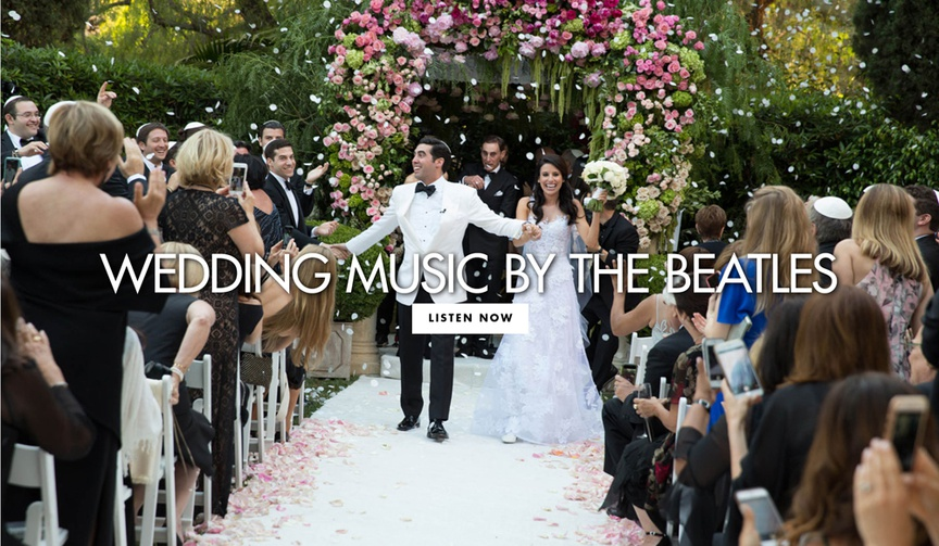 Wedding music by the beatles for your wedding ceremony and reception