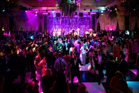 wedding reception black and white checker dance floor party revelry wedding ideas