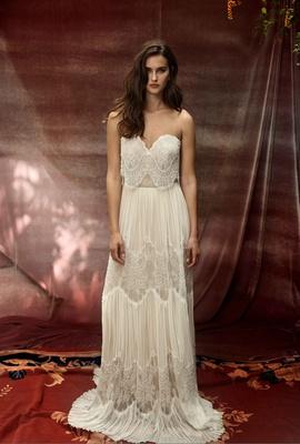 Bohemian Wedding Dresses Lihi Hod White Bohemian 2016