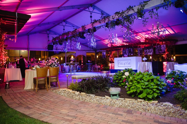 Traditional Ceremony Vibrant Reception Inspired By A Garden Party