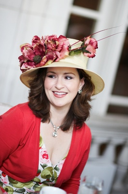 Tea party and Kentucky Derby hat attire
