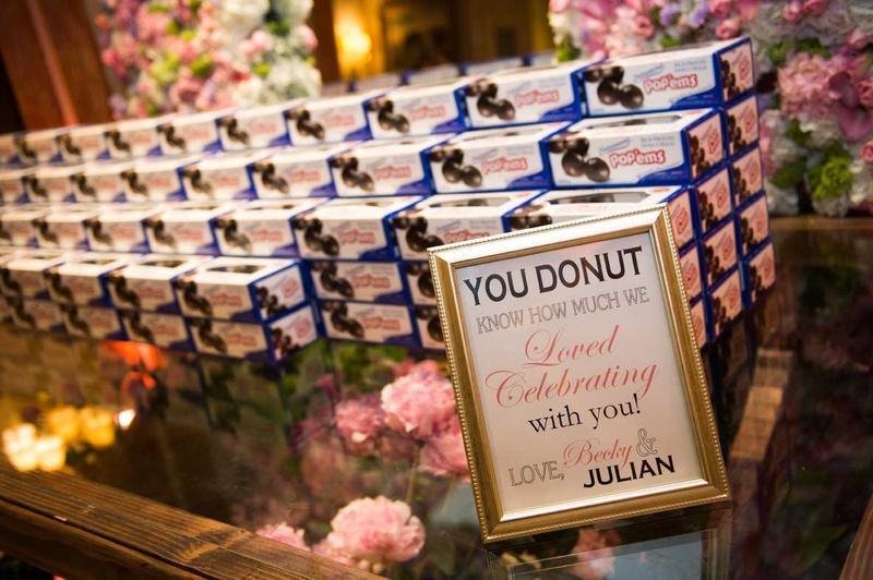 Pink Purple Garden Inspired Tented Wedding In New York Inside