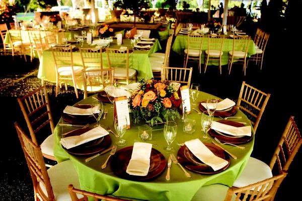 An At-Home Alfresco Fall Wedding in Georgia - Inside Weddings