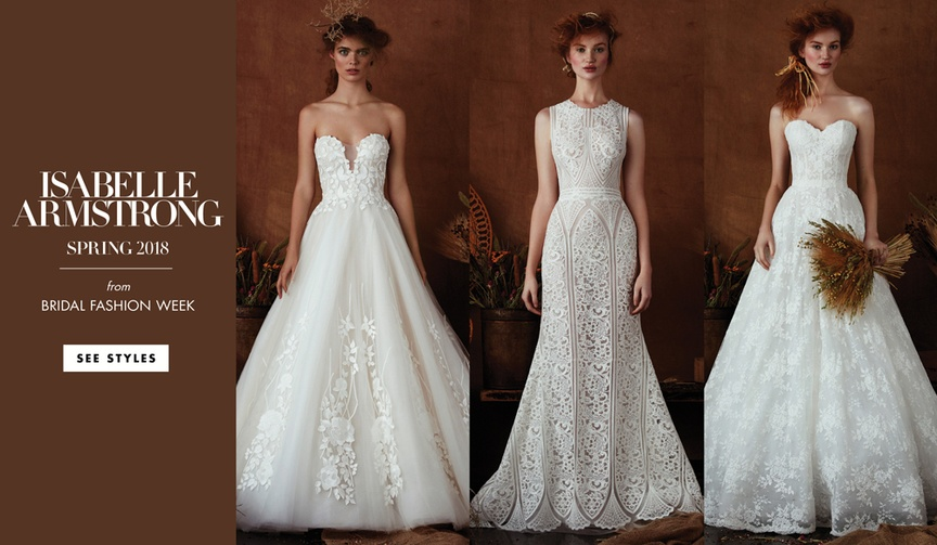 See 13 new wedding dresses from the latest collection.