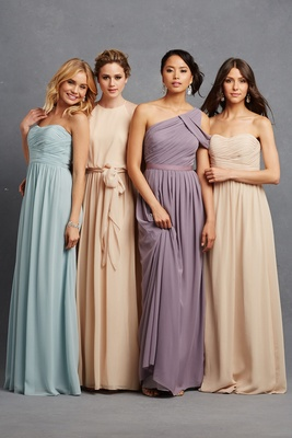 Bridesmaid Dresses - Donna Morgan Serenity Collection - Inside ...