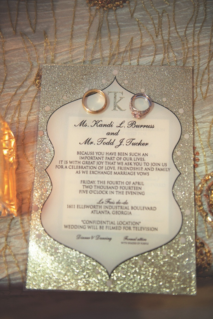 Invitations More Photos Glitter Wedding Invitation Inside