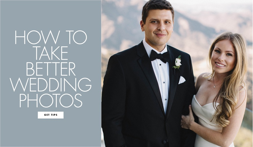 Tips and tricks to be more photogenic on your wedding day
