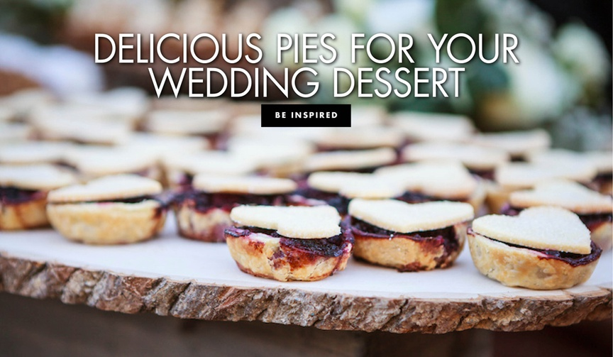 10 pies to add to your reception dessert table.