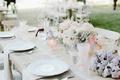 Katrina Hodgson wedding reception with light pink details