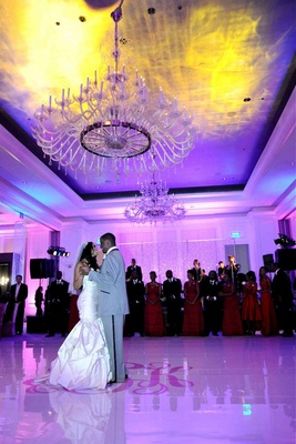 Porsha Williams and Kordell Stewart's first dance