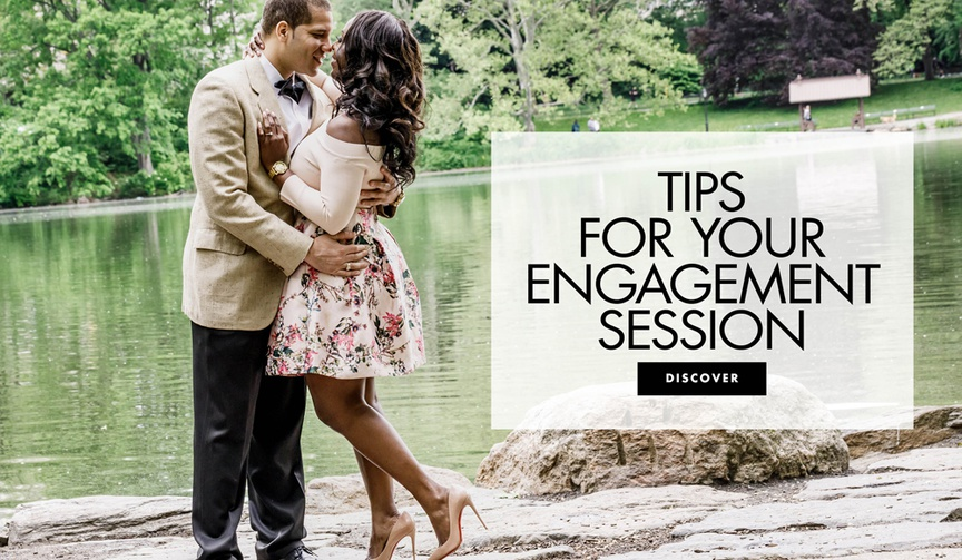 How to have great engagement photos tips for your engagement session