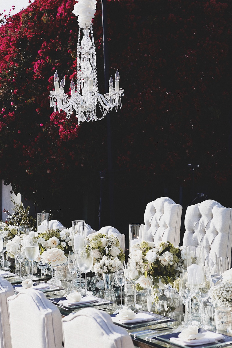 Brittney Palmer and Aaron Zalewski's wedding table