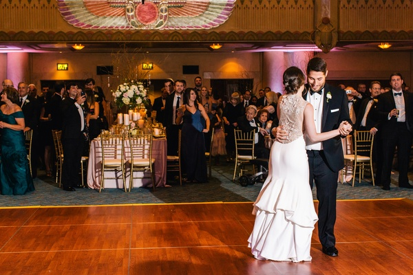 Ceremony Reception Following: Jewish Ceremony + Reception With Touches Of 1920s Glam In