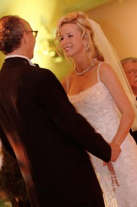 Custom wedding sheath dress with beads