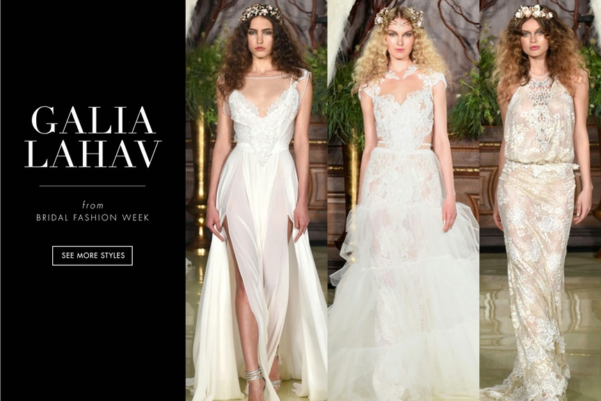 galia lahav fashion week collection