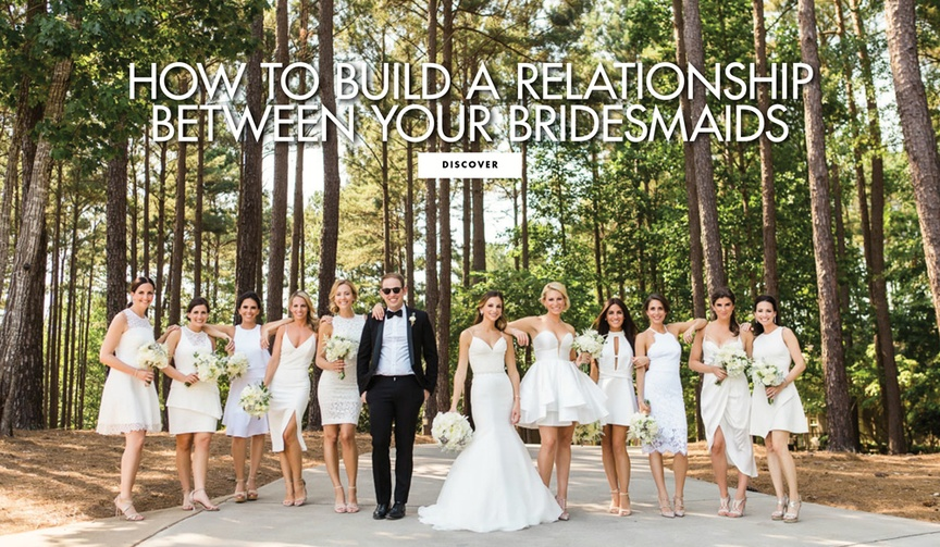 How to build a relationship between your bridesmaids bridal party getting along