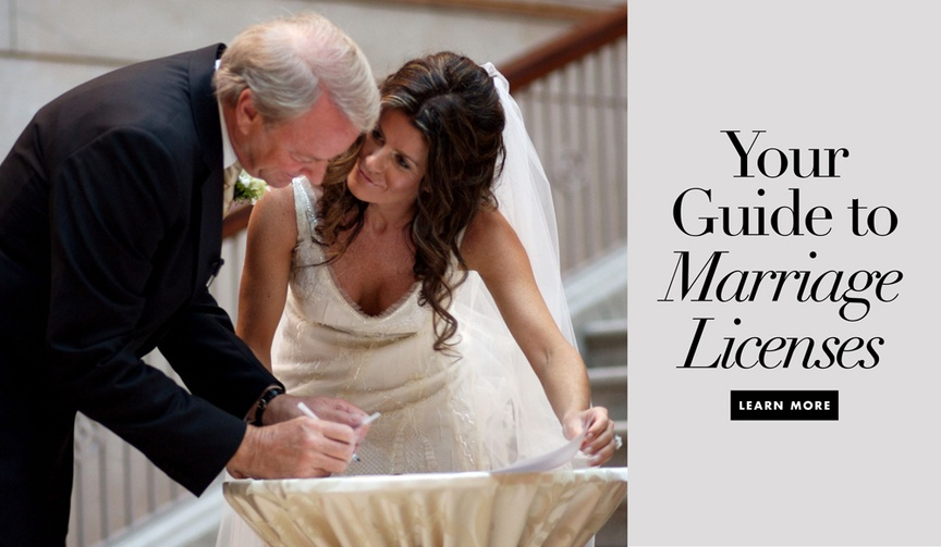 Follow these guidelines to obtain and file your marriage license.